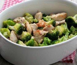 Пилешко филе с броколи