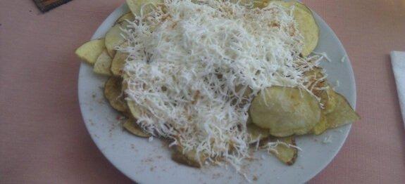 Картофен чипс със сирене