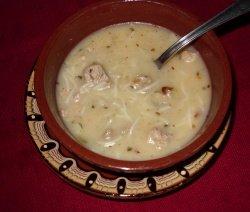 Куркудена супа в паница