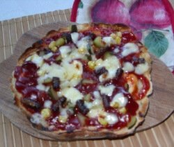 мързелива пица