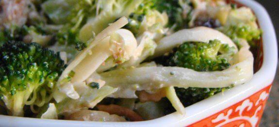 салата с броколи