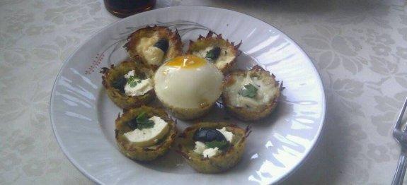 мъфини с картофи