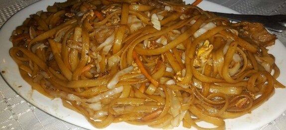 спагети с три вида месо