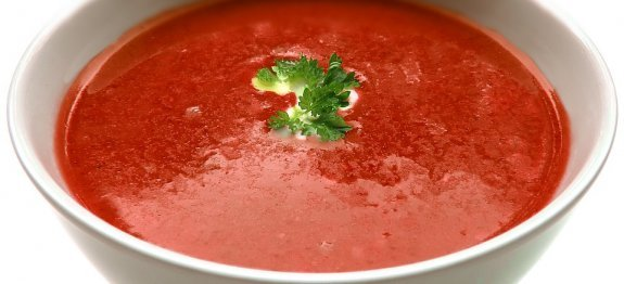 крем супа от червени домати