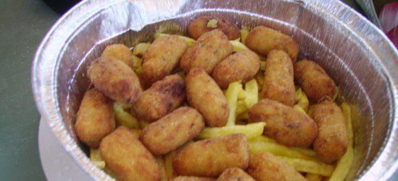 крокети от картофи и птиче месо