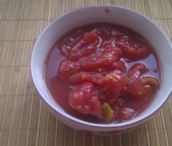 консерви с белени домати